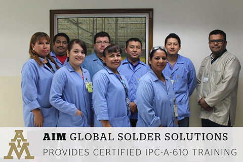 Elegant AIM Provides IPC A 610 Training To Universal Lighting Technologies Employees Pictures Gallery